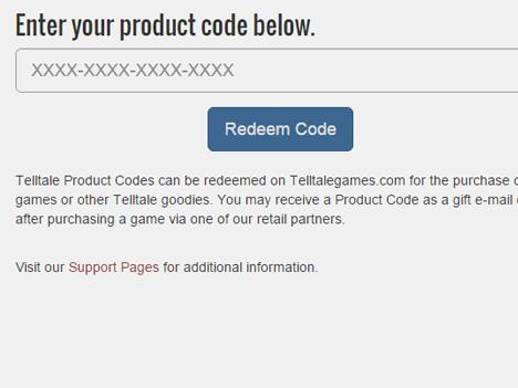 Hur löser jag in mitt Telltale Games spel?
