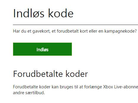 Hur löser jag in min Xbox One kod?